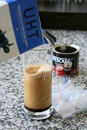 Cafe Frappe zubereiten